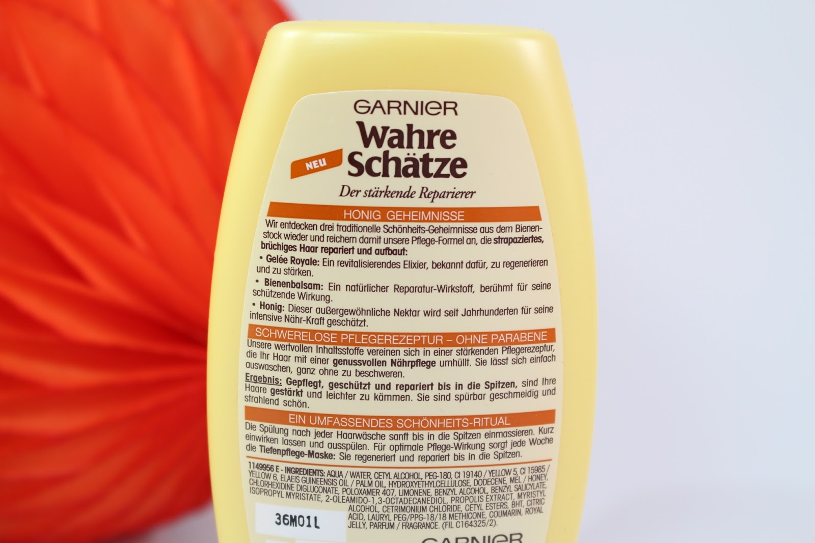 testen testen im test garnier wahre schà tze honig