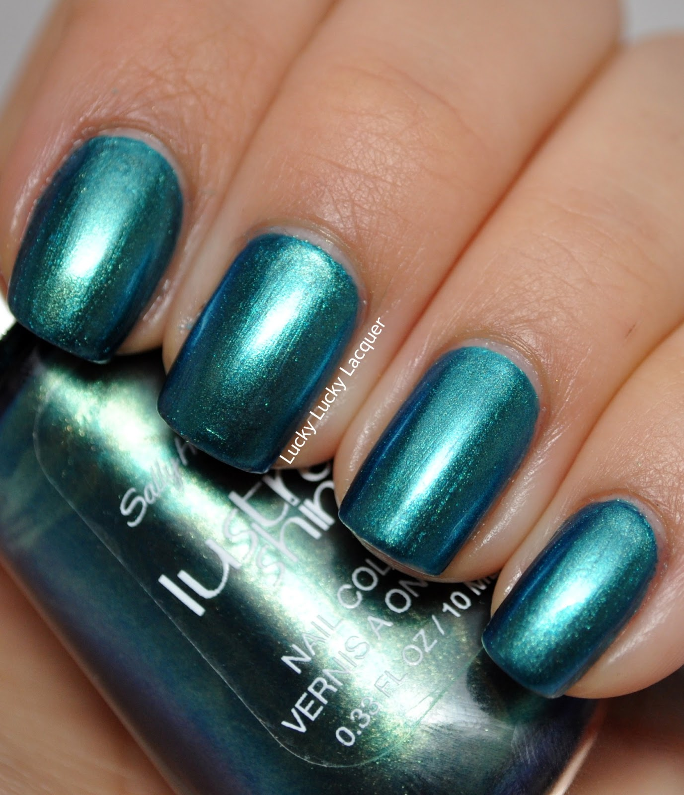 Lucky Lucky Lacquer: Sally Hansen Lustre Shine Scarab