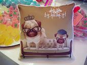 Almohadones sublimados,diseño exclusivo de RominaDecor.