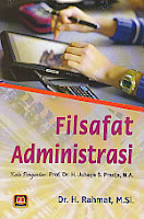 toko buku rahma: buku FILSAFAT ADMINISTRASI, pengarang rahmat, penerbit pustaka setia