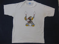 80's MICKY MOUSE               「DOUBLE GUN」             PRINTED Tee SHIRTS