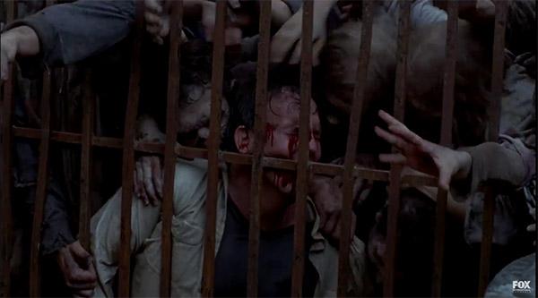 Ataque zombi The Walking Dead temporada 6
