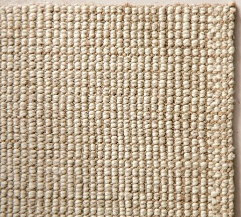 barns jute bhp rug new and natural barn q ebay authentic wool chunky pottery