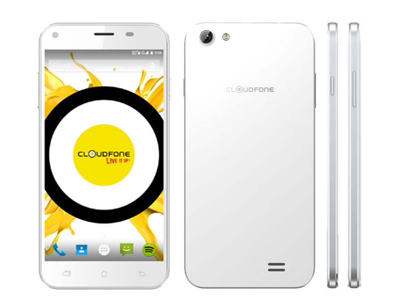 CloudFone Excite LTE Appeared, MT6753 Octa Core, 13 MP Rear Camera And 5 Inch Screen!
