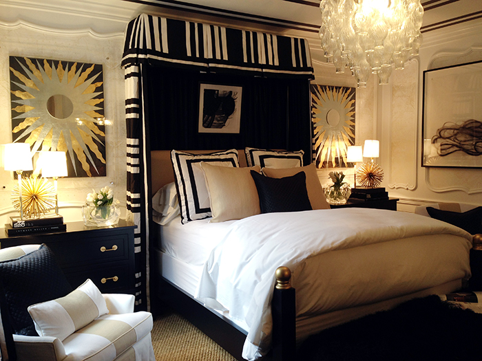 Knight moves jlg showhouse detour at high point - Red and gold bedroom designs ...