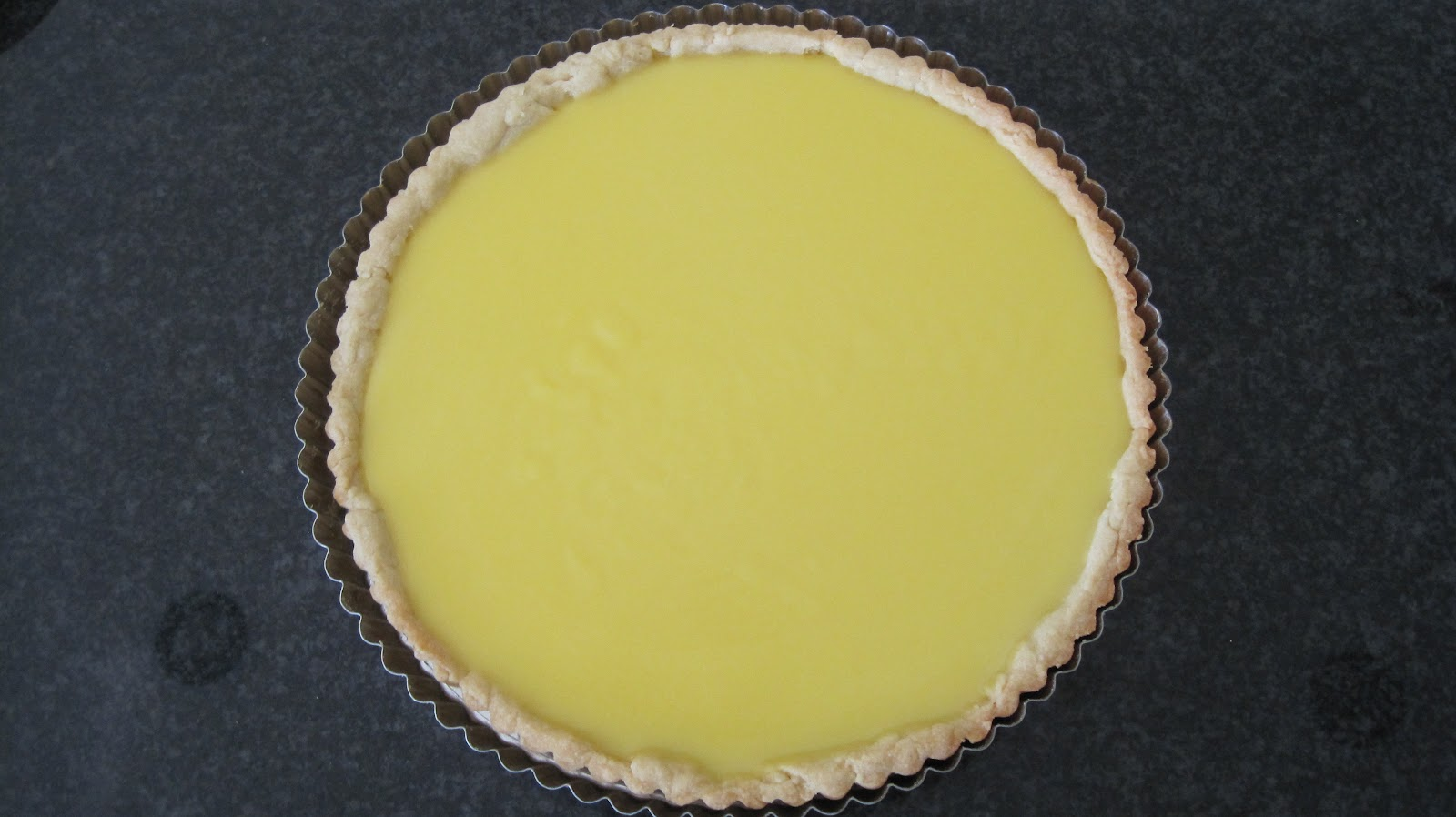 Meyer Lemon Tart with a Layer of Chocolate - At Home with ...