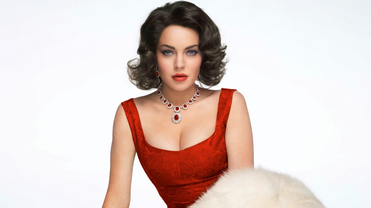 First Images of Lindsay Lohan as Elizabeth Taylor Collider