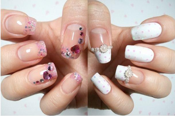 Nail art trend 2012 nail decorations photos for Decorazione e applicazione unghie finte