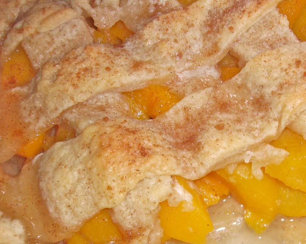 Miner Moments: Easy Peach Cobbler