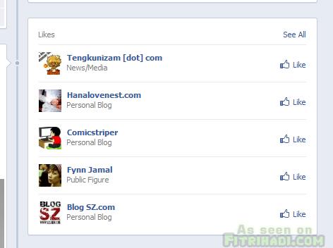 favourite facebook timeline
