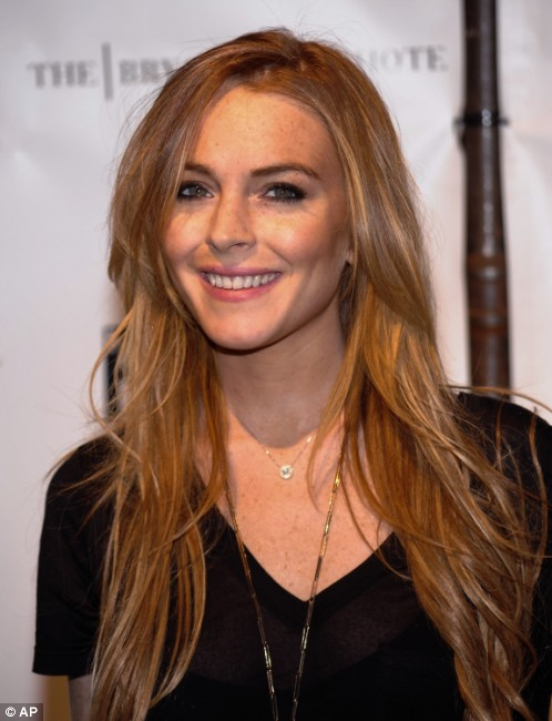 lindsay lohan red hair-7