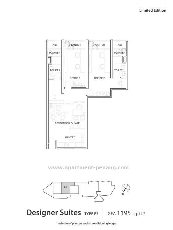 The Landmark Apartment Penang Com