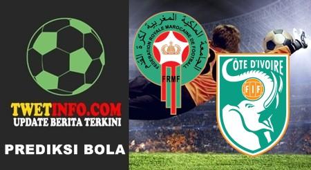 Prediksi Morocco vs Cote d'Ivoire