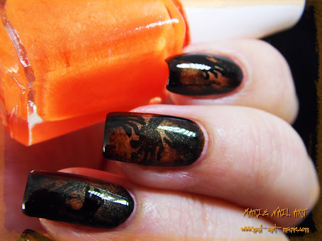 Nail Art Ombres Terrifiantes4
