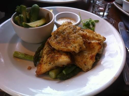 Hudson's Putney Grilled fish