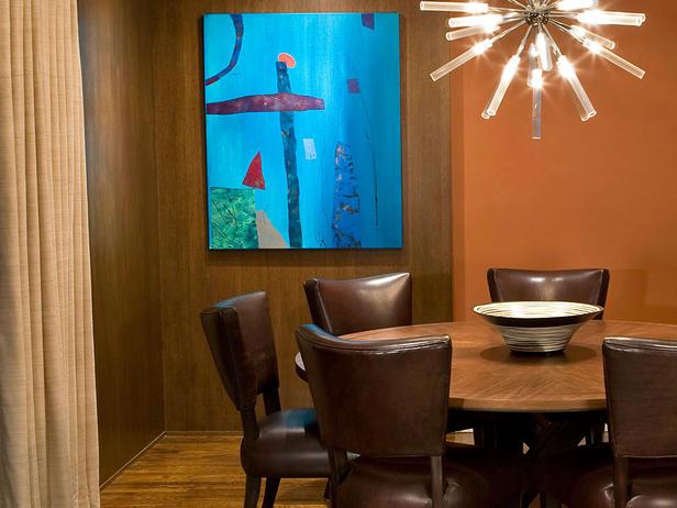 غرف سفرة حديثة باشكال مختلفة  Modern-dining-room-design-in-orange9