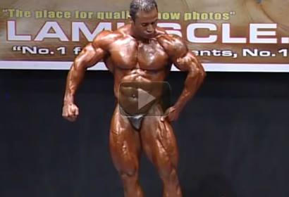 Charles Mario NABBA Overall Champion Posing