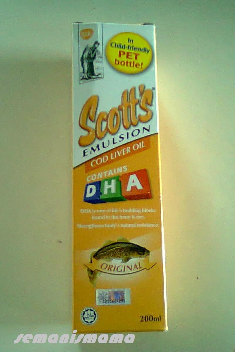 Harga Jual Minyak Ikan Scotts Emulsion Kapsul Gtresep Umpan Pelet Belog Semanis Mama
