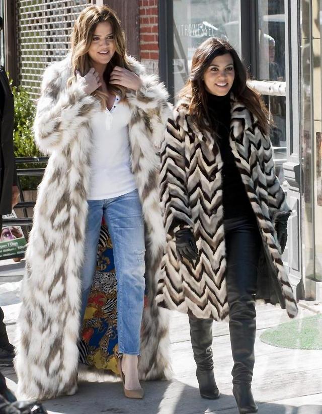 "Khloe Kardashian en defensa de los animales ""F*ck Yo Fur"""