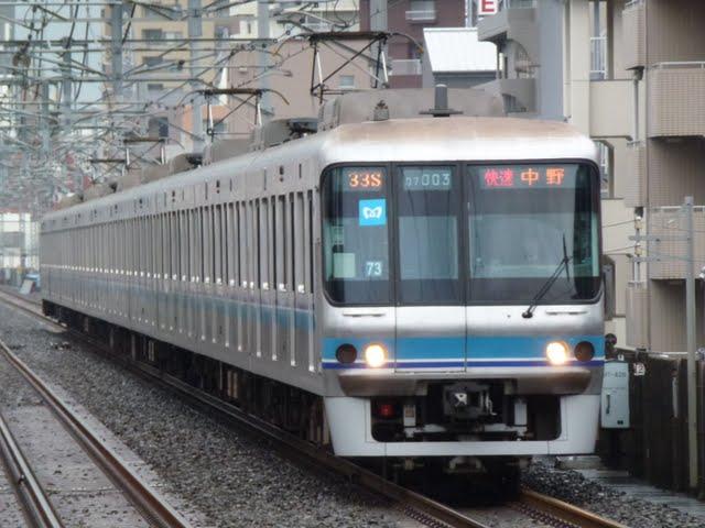 東京メトロ東西線 快速 中野行き4 07系