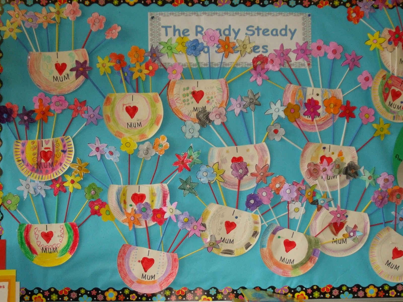 Ms flaherty 39 s class senior infants mother 39 s day art for Mothers day art for preschoolers