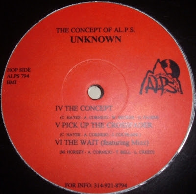The Concept Of AL.P.S. – Unknown EP (Vinyl) (1994) (128 kbps)