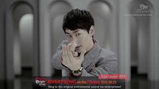Eunhyuk Super Junior SPY