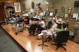 tattoo parlors, tattooing