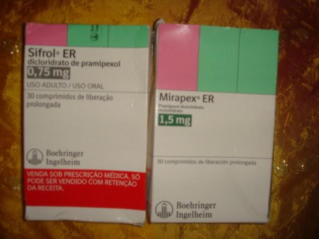 Doença de Parkinson: Sifrol ER X Mirapex ER