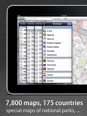 phan mem ban do offline cho iphone - City Maps 2GO