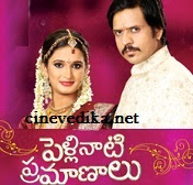 Watch Pelli Nati Pramanalu Telugu Daily Serial