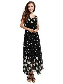 Dress polkadot terbaru desain cantik menarik menggugah mata