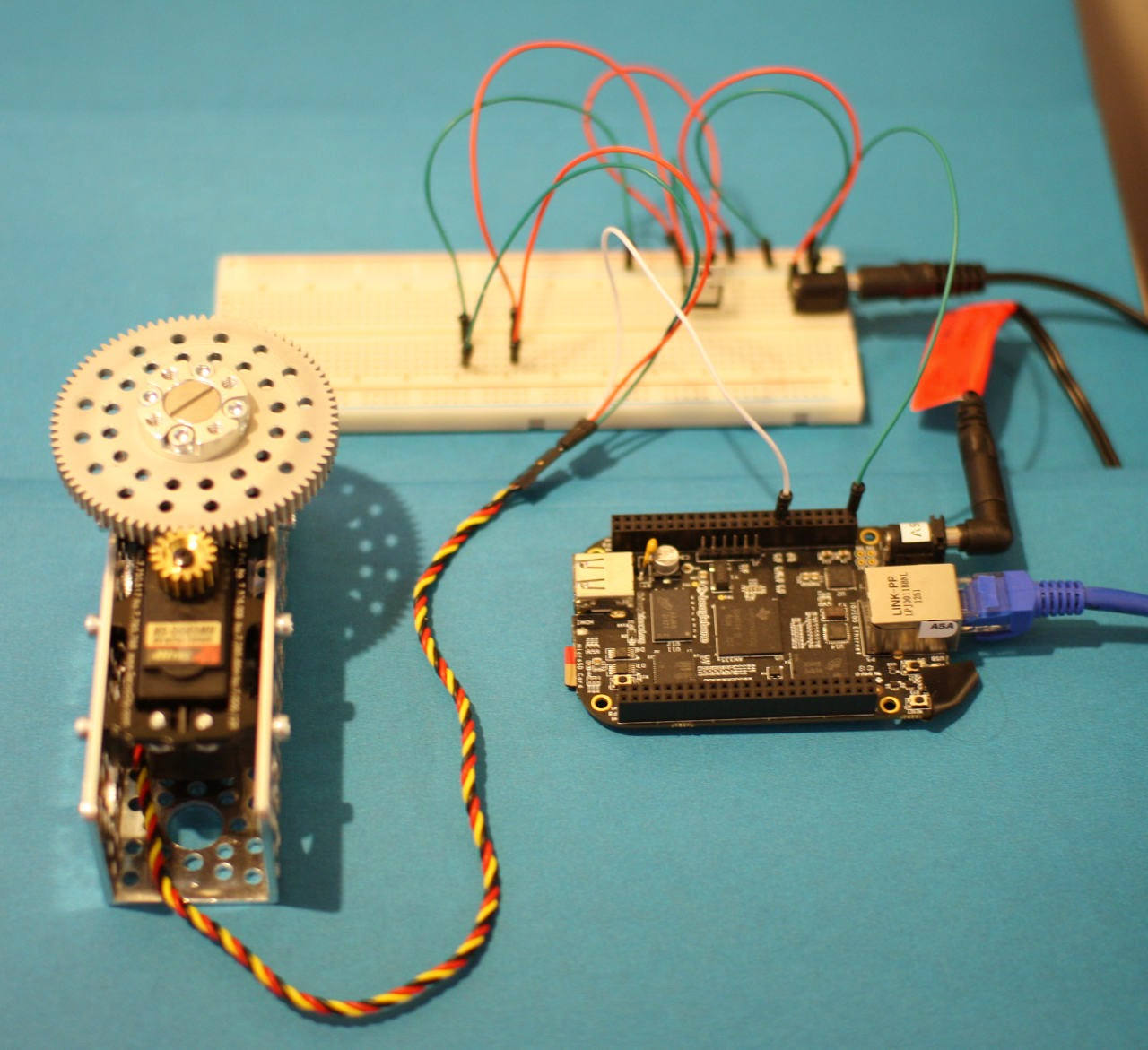 Linux And Microcontroller Tips How To Control Servo
