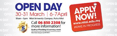 Hari Terbuka Kampus Universiti Nilai 2013