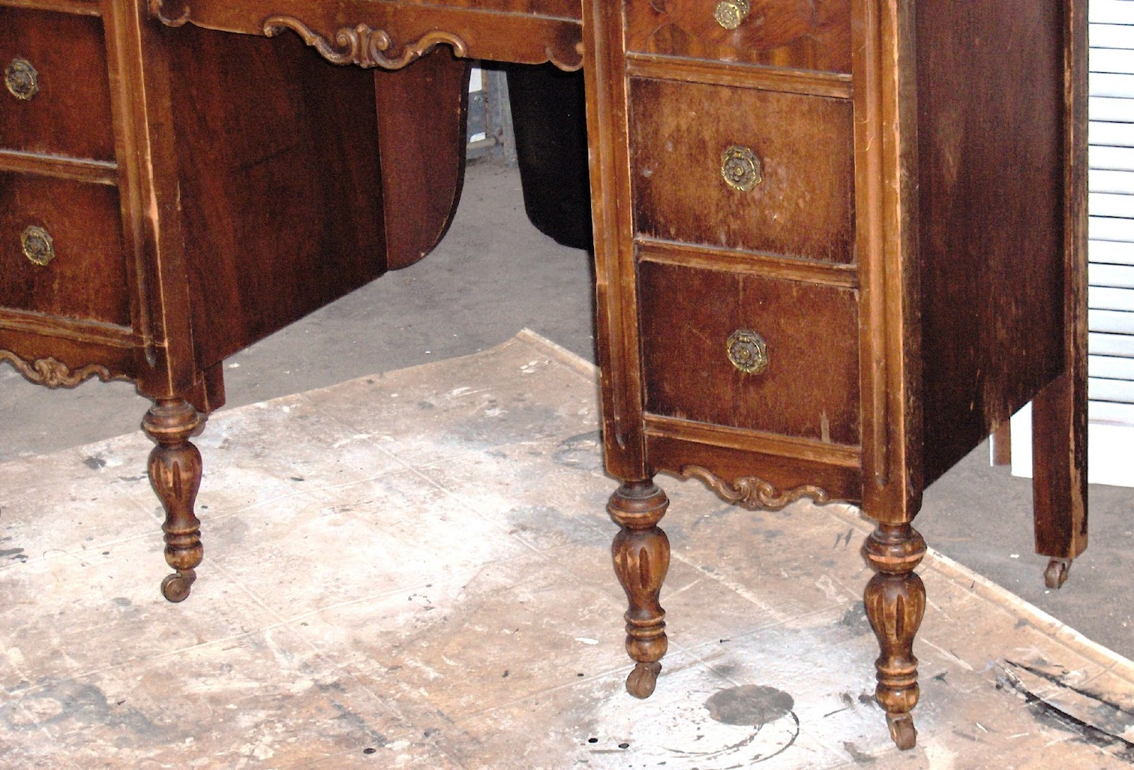 Antique Kitchen Work Tables Fay Grayson Home Antique Vanity Makeover Part 1