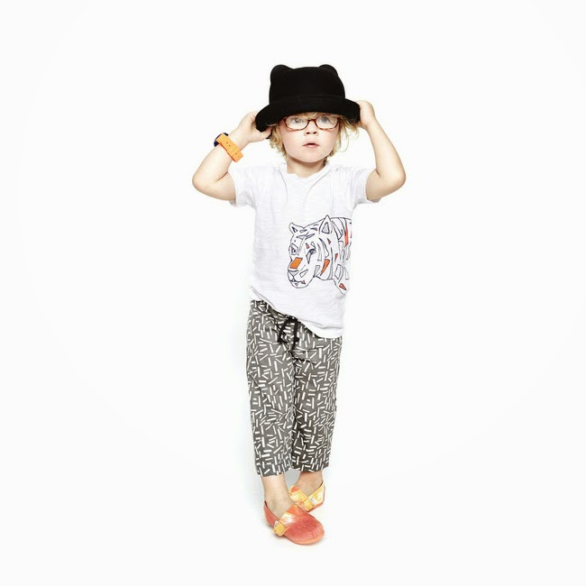 Good Boy Friday: sprinkle shorts in hand woven cotton for spring/summer 2014 kids fashion collection