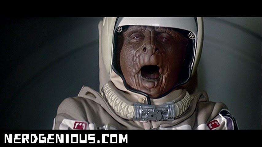 1987 Robocop OCP old man Dan O'Herlihy alien Grig O-Face