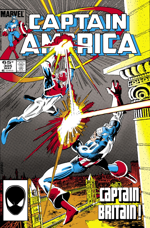 Captain America (1968) Issue #305 #233 - English 1