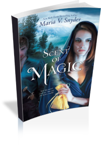 Book Cover: Scent of Magic by Maria V. Snyder