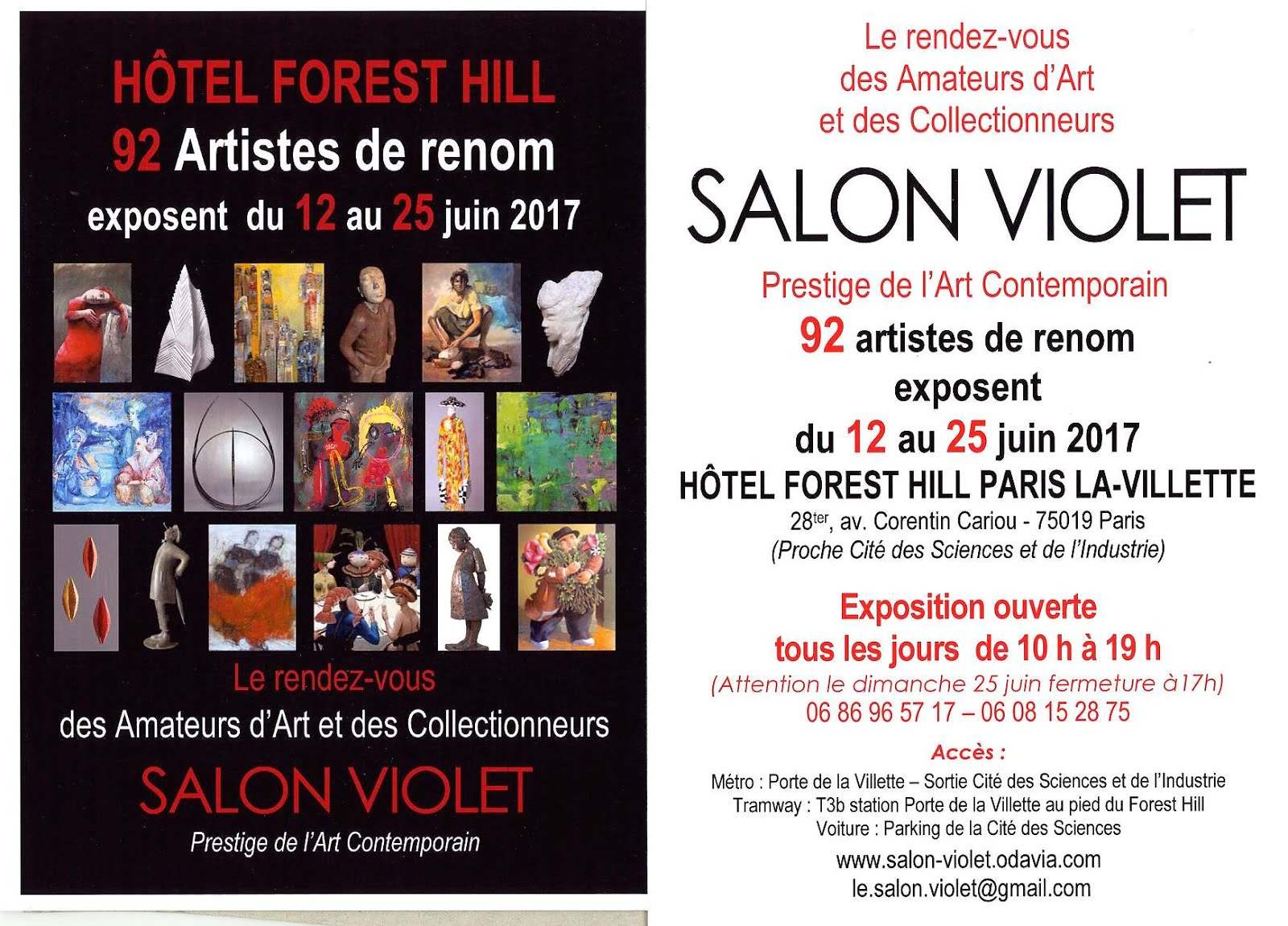 PARIS : CAPTON INVITÉ AU 64ÈME SALON VIOLET