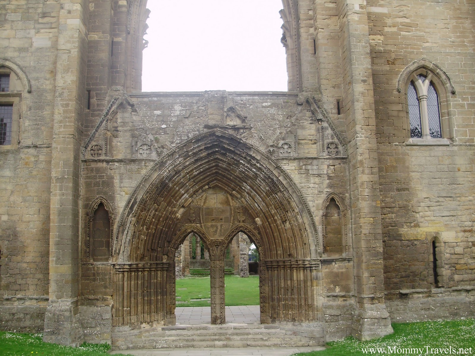Elgin Cathedral ruins Scotland