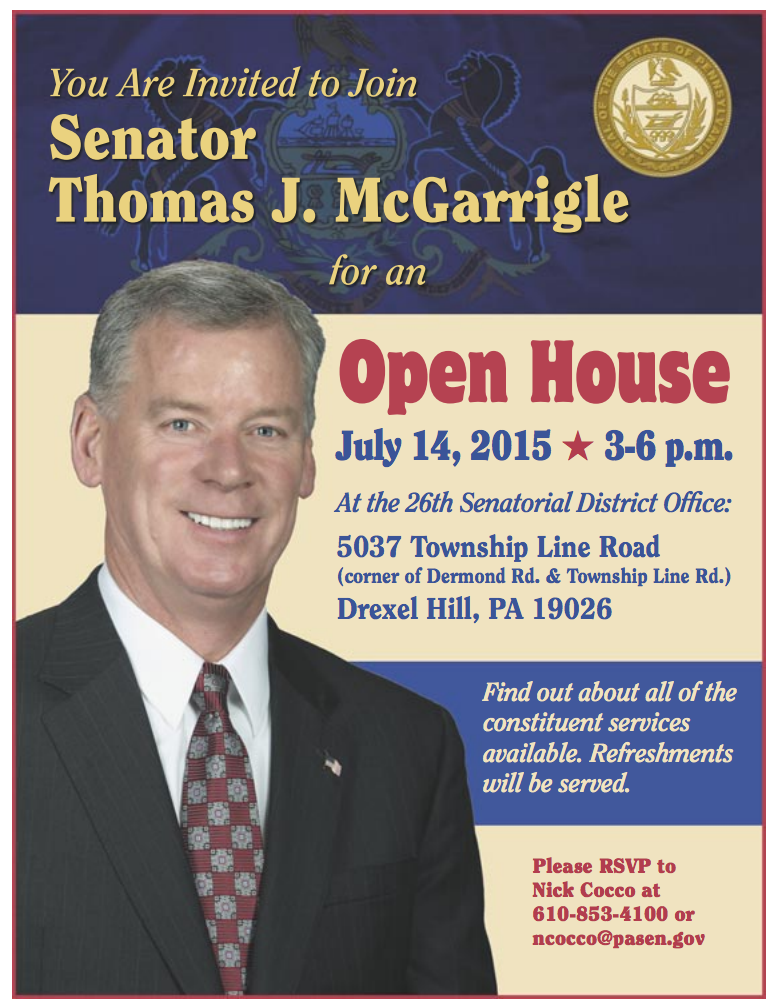 State Senate Tom McGarrigle