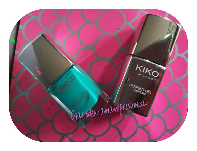 esmalte efecto gel de Kiko