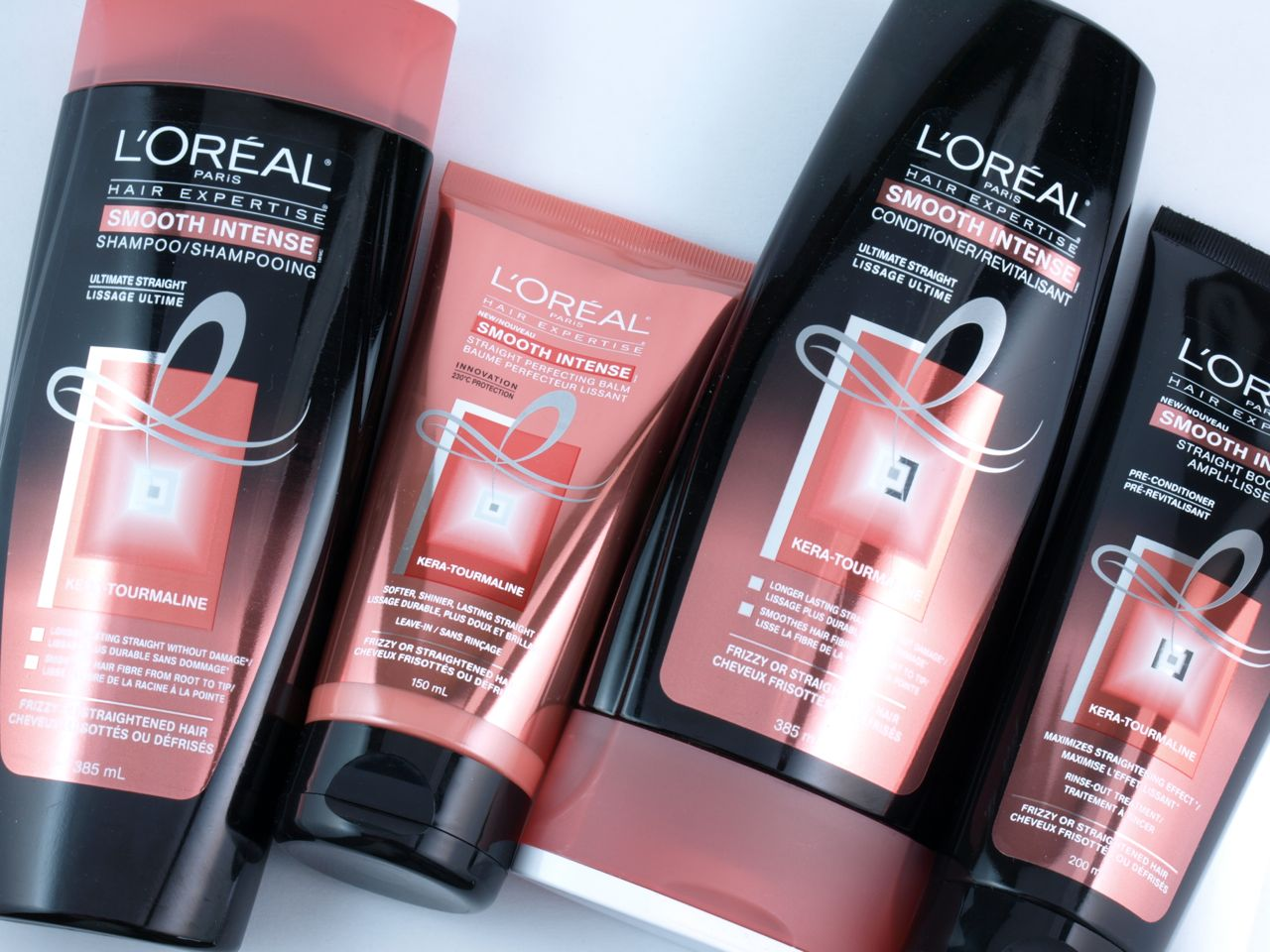 L'Oreal Paris Hair Expertise Smooth Intense Hair Care Collection Review
