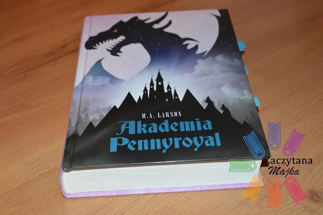 "[PRZEDPREMIEROWO] Recenzja #93 - M. A. Larson ""Akademia Pennyroyal"""