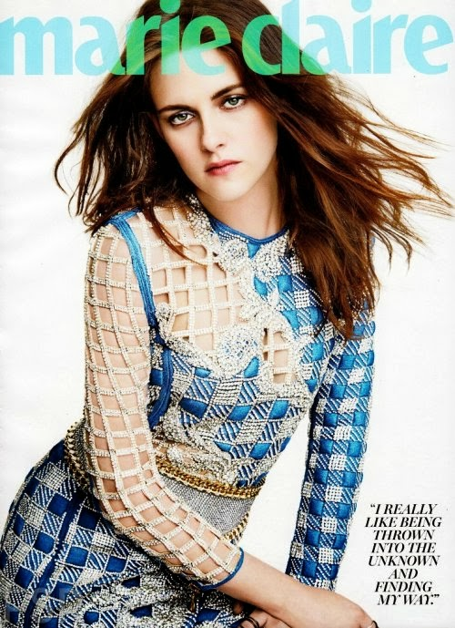 Kristen Stewart HQ Pictures Marie Claire US Magazine Photoshoot March 2014