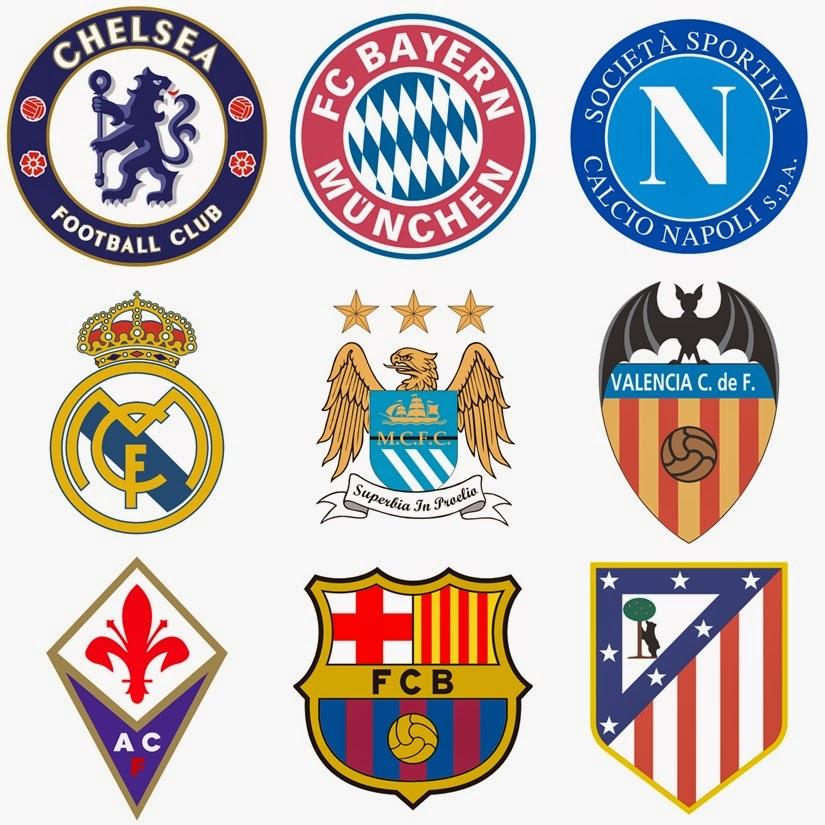 Logo Vector Klub Sepakbola Dunia