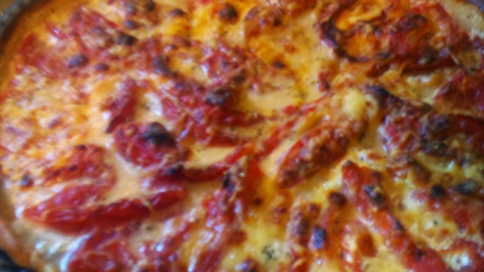 Comment faire un Crêpe garnie façon pizza