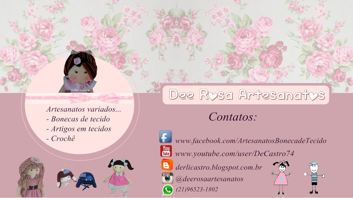 Dee Rosa Artesanatos!