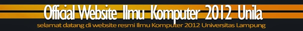 Official Website Ilmu Komputer 2012 Unila